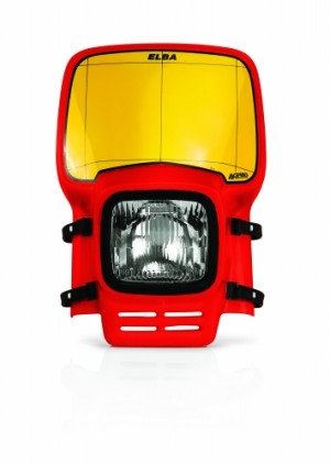 HEADLIGHT    ELBA - RED