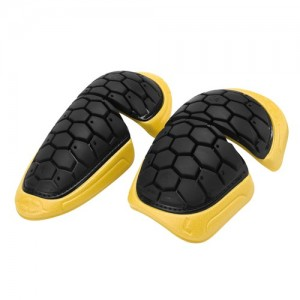 SHOULDER PADS HEXA - BLACK/YELLOW - ONE SIZE