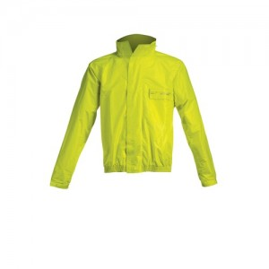 LOGO RAIN SUIT - BLACK/YELLOW