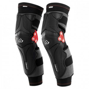 X-STRONG KNEE GUARDS - BLACK/WHITE