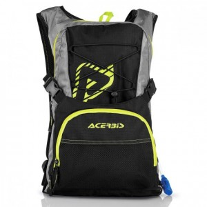 H2O DRINK/BACKPACK - BLACK/YELLOW