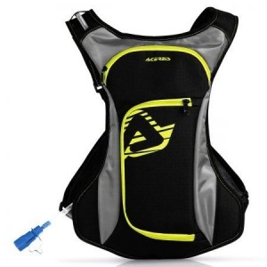 BACKPACK ACQUA DRINK BAG - BLACK/YELLOW