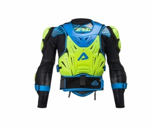 COSMO 2.0 BODY ARMOUR - FLO YELLOW/BLUE