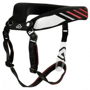 ADULT NECK BRACE 2.0 - BLACK/RED