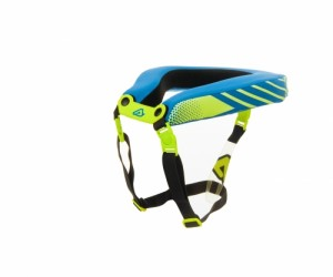 STABILAZING COLLER 2.0 ADULT - FLO YELLOW/BLUE