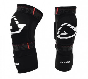 KNEE GUARD SOFT 2.0 - BLACK - ONE SIZE