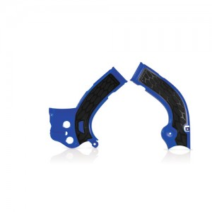 FRAME PROTECTOR X-GRIP YZF 250 14-17 + 450 14-15 - BLUE