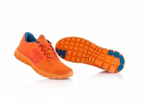 CORPORATE RUNNING SHOES - FLO ORANGE