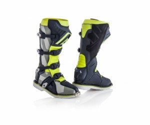 X-PRO V BOOTS - GREY/YELLOW