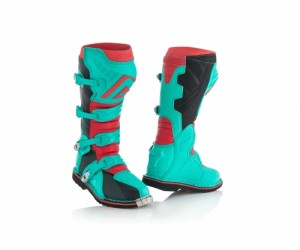X-PRO V BOOTS - GREEN/RED