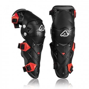 KNEE GUARDS IMPACT EVO 3.0 - BLACK/RED - ONE SIZE