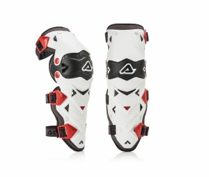 KNEE GUARDS IMPACT EVO 3.0 - BLACK/RED - KNEE GUARDS IMPACT EVO 3.0 - BLACK/WHITE - ONE SIZE