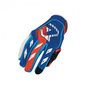 MX 1 OFF ROAD GLOVES - BLUE/ORANGE