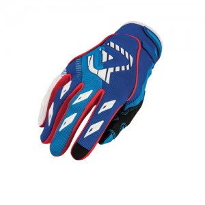 MX 1 OFF ROAD GLOVES - BLUE/RED