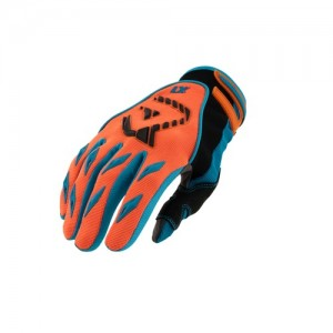 MX 1 OFF ROAD GLOVES - ORANGE/BLUE
