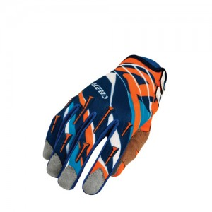 MX 2 OFF ROAD GLOVES - ORANGE/BLUE