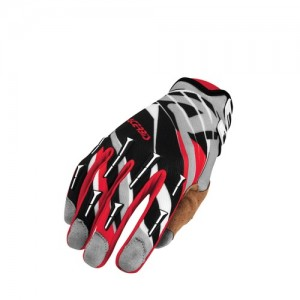MX 2 OFF ROAD GLOVES - BLACK/RED