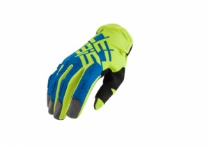 MX-X2 GLOVES - FLO YELLOW/BLUE