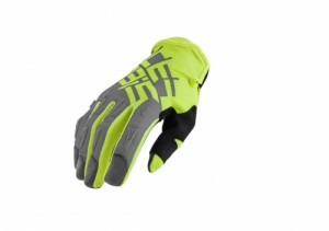 MX-X2 GLOVES - GREY/FLO YELLOW