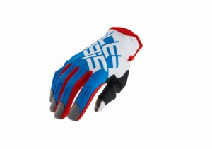 MX-X2 GLOVES - RED/BLUE