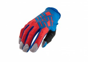 MX-X2 GLOVES - BLUE/RED
