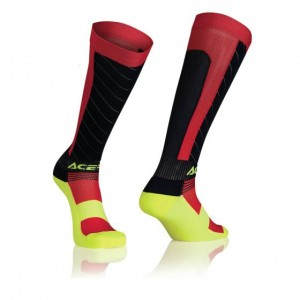 MX X-FLEX SOCKS - BLUE/RED