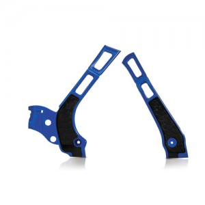 FRAME PROTECTOR X-GRIP YZ 125/250 08-18 - BLUE