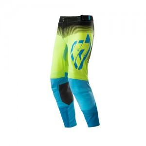 PANTS MX X-FLEX - BLACK/YELLOW