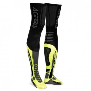 X-LEG PRO SOCKS - BLACK/YELLOW