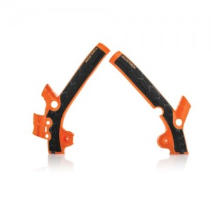 FRAME PROTECTOR X-GRIP KTM 85 13/17 - TC 85 14/17 – ORANGE