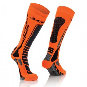 SOCKS MX PRO - BLACK/ORANGE