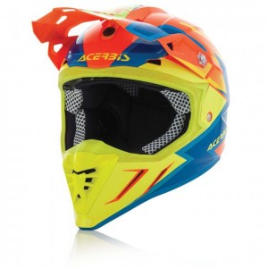 HELMET PROFILE 3.0 SNAPDRAGON - RED/YELLOW