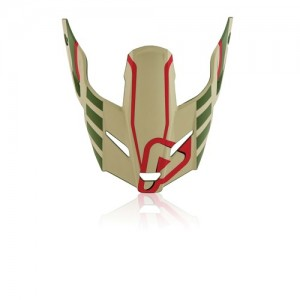 Visor Profile 3,0 - MARRON/GREEN