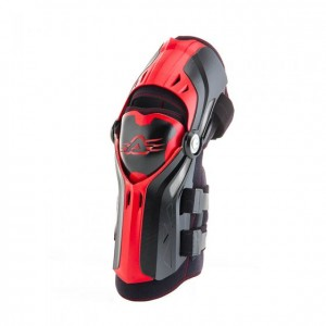 KNEE GUARDS GORILLA - BLACK/RED - ONE SIZE