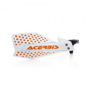 HANDGUARDS ULTIMATE - WHITE/ORANGE