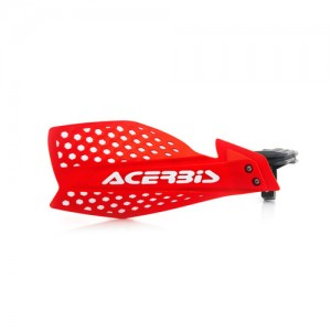 HANDGUARDS ULTIMATE - RED/WHITE