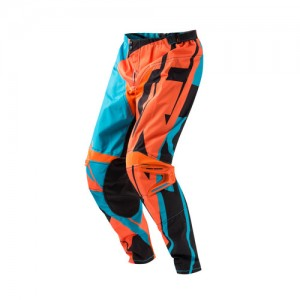 PROFILE MX PANTS - ORANGE/BLUE