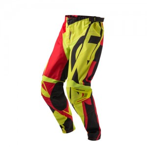 PROFILE MX PANTS - RED/YELLOW