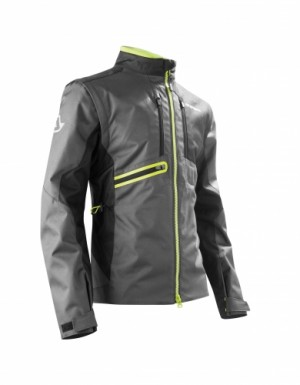 ENDURO-ONE JACKETS - BLACK/YELLOW