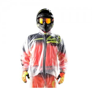 TRASPARENT RAIN JACKET 3.0 - CLEAR