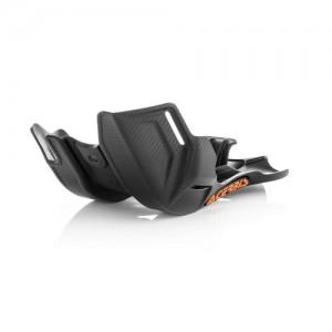SKID PLATE KTM SX125 16/19 + SX250 16/18 + EXC125 17/19 + HUSQVARNA TC125 16/19 + TE125 17/19 – BLACK