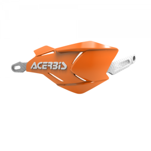 HANDGUARDS X-FACTORY - ORANGE/WHITE