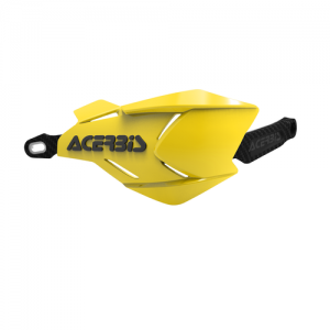 HANDGUARDS X-FACTORY - YELLOW/BLACK