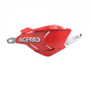 HANDGUARDS X-FACTORY - RED/WHITE