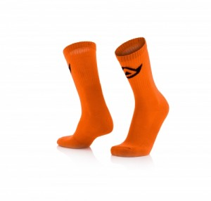 SOCKS COTTON - FLO ORANGE