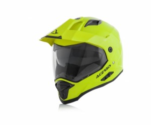 REACTIVE FIBER HELMET - FLO YELLOW