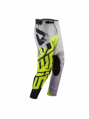 MX AEROTUNED PANTS - GREY/YELLOW