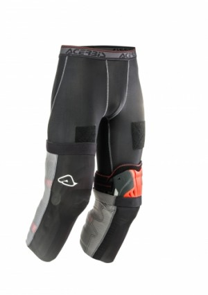 REINFORCEMENT X-KNEE GECO UNDERWEAR - BLACK/GREY