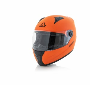 HELMET FULL FACE FS-807 - ORANGE