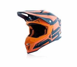 HELMETS PROFILE 4 - ORANGE/BLUE